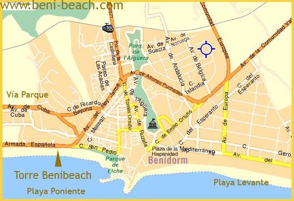 Apartamentos benibeach apartments - Apartamentos en benidorm playa poniente ...